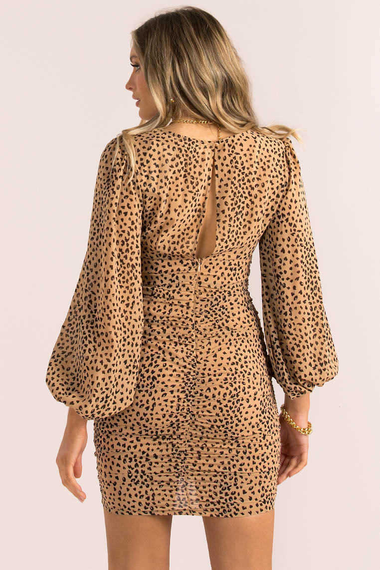 Zita Dress / Leopard