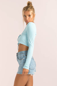 Evelina Top / Blue
