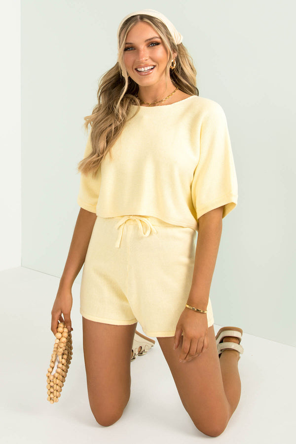 Kiva Top / Yellow