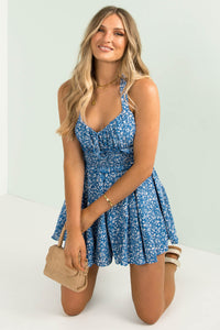 Meli Playsuit / Blue