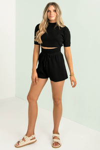 Skylar Shorts / Black