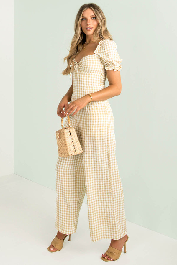 Penny Jumpsuit / Gingham