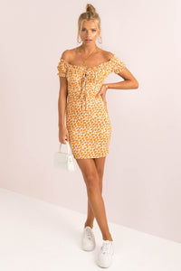 Bambi Dress / Orange