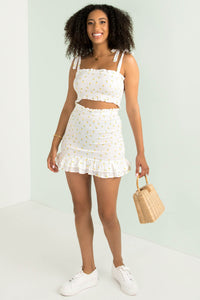 Cassie Skirt / White