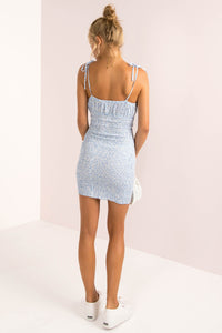 Stacey Dress / Light Blue