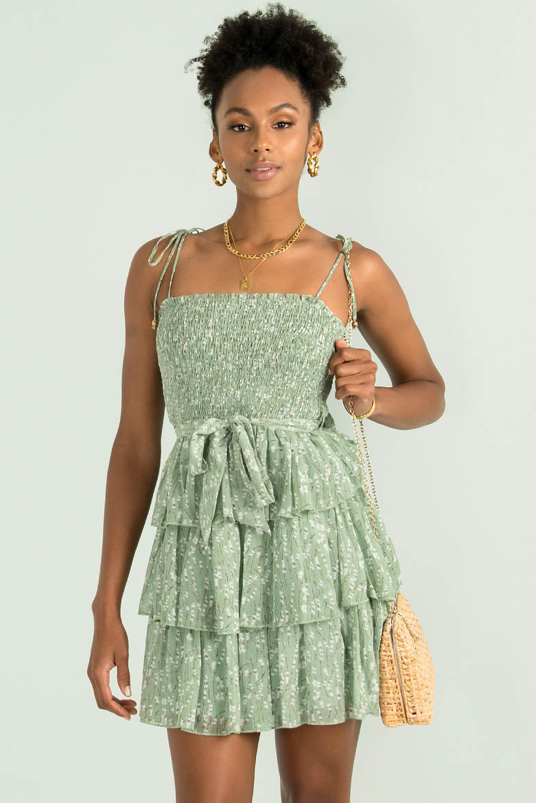 Cristobal Dress / Green