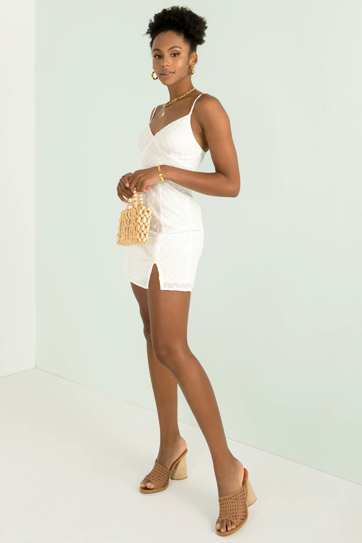Kasia Dress / White