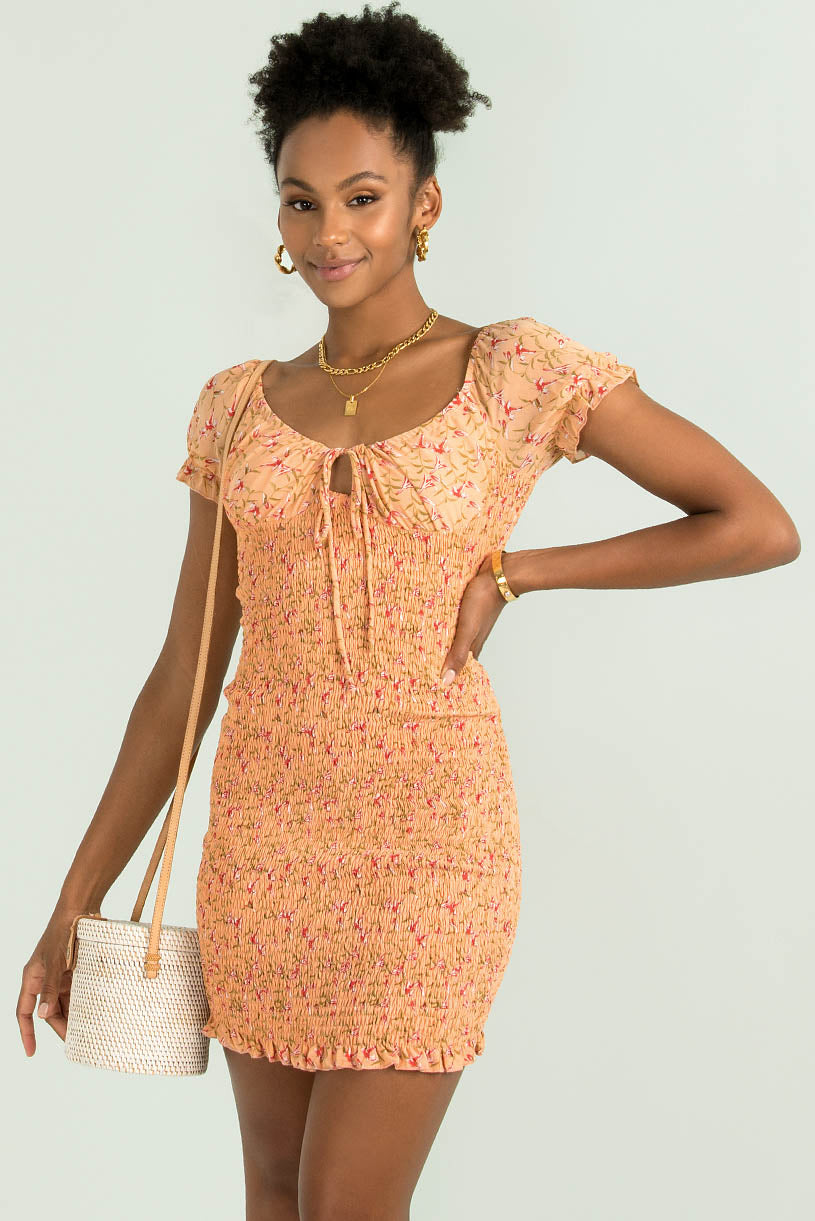 Dylan Dress / Peach