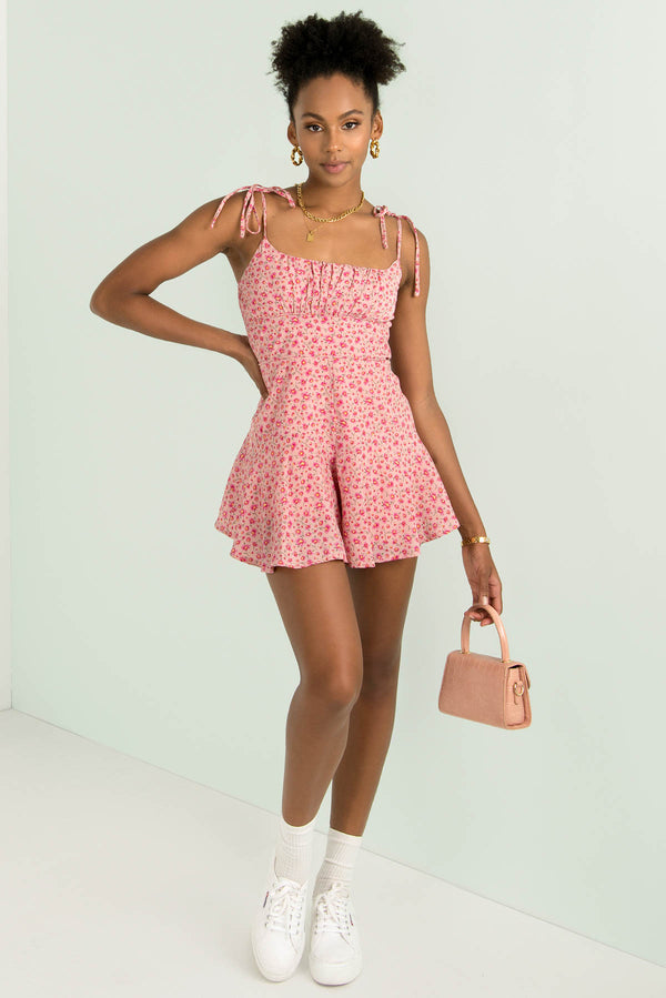 Annie Playsuit / Pink Blossom