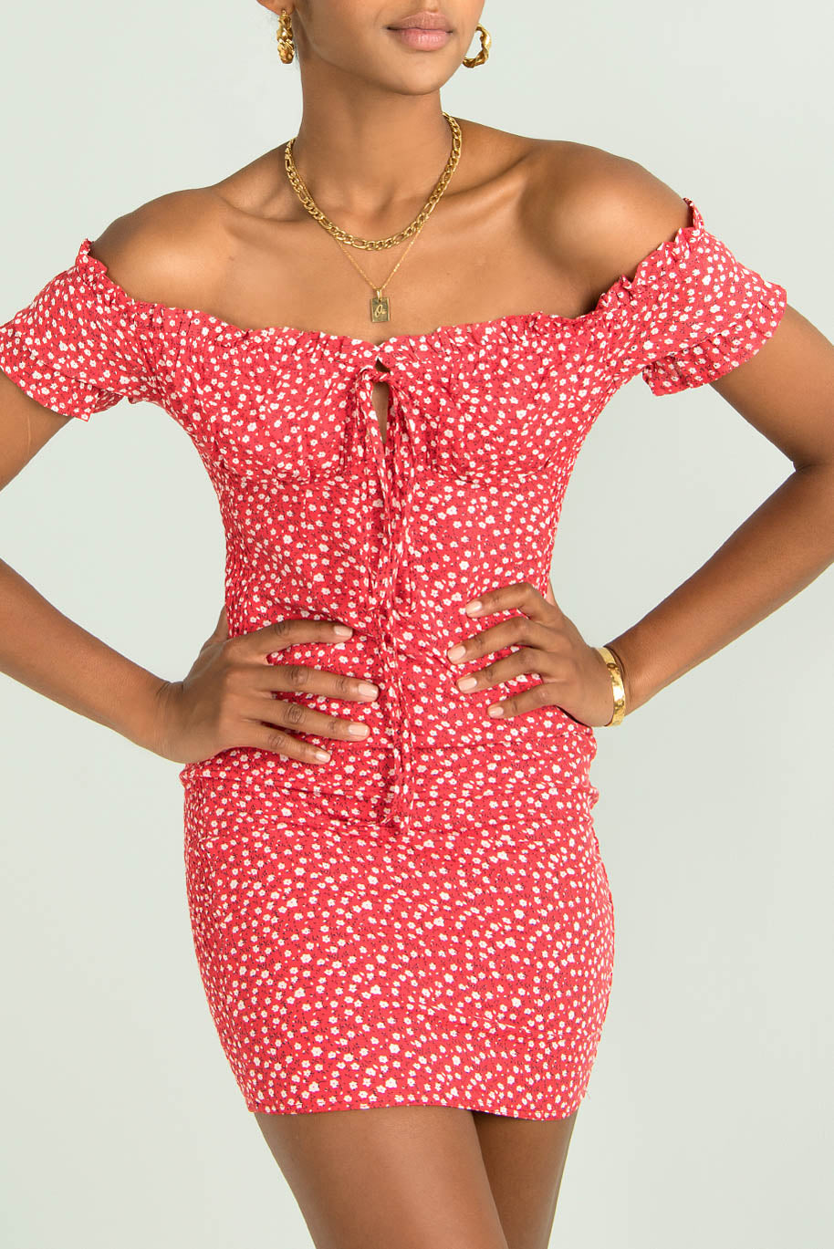 Bambi Dress / Cherry