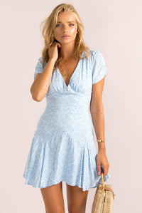 Gabriella Dress / Blue