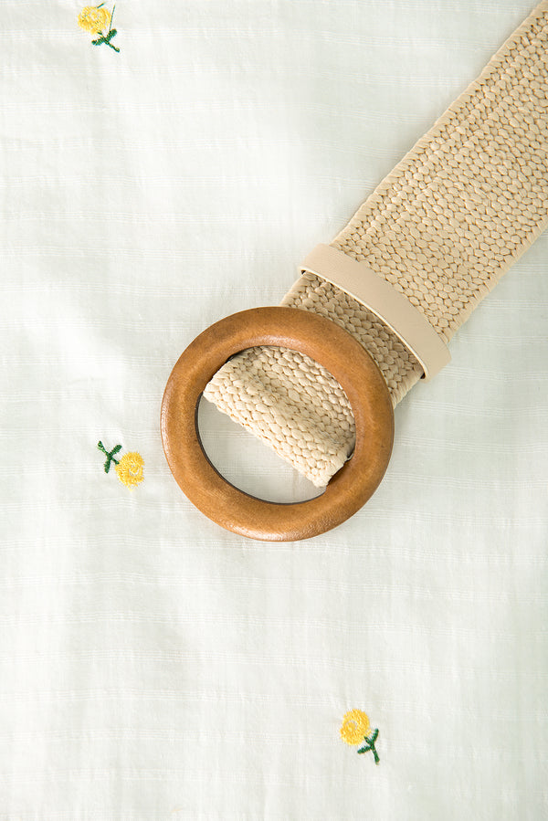 Freya Belt / Straw