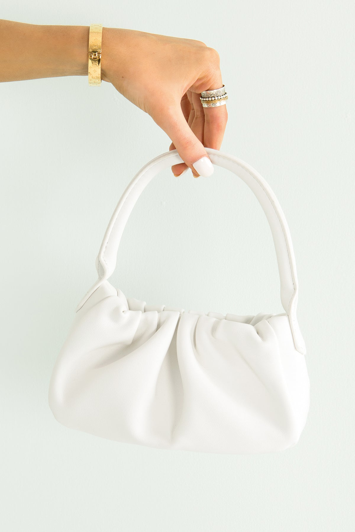 Suzi Mini Bag / White