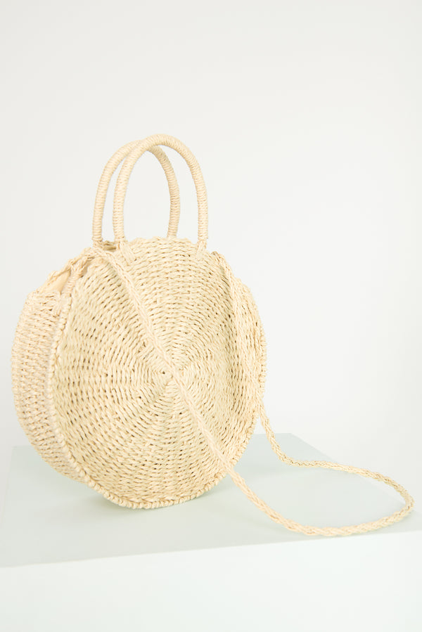 Eve Straw bag / Beige