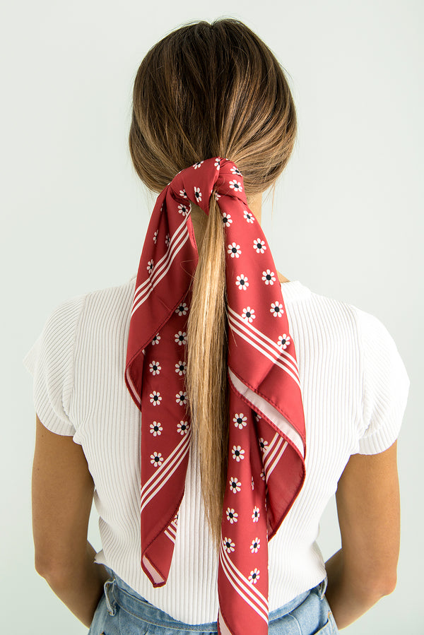 Pippa Scarf / Red