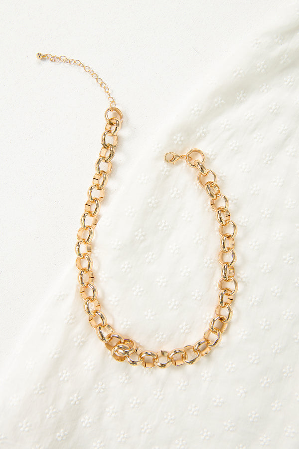 Nikki Chain Necklace / Gold