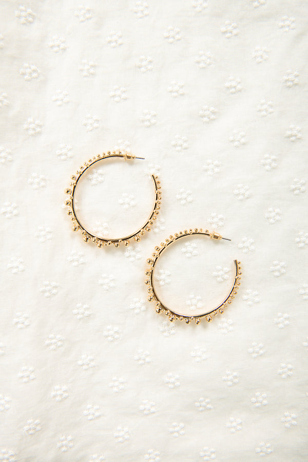 Penelope Hoops / Gold