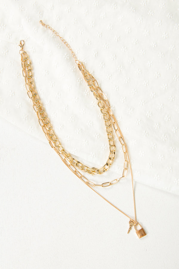 Kaysha Necklace / Gold