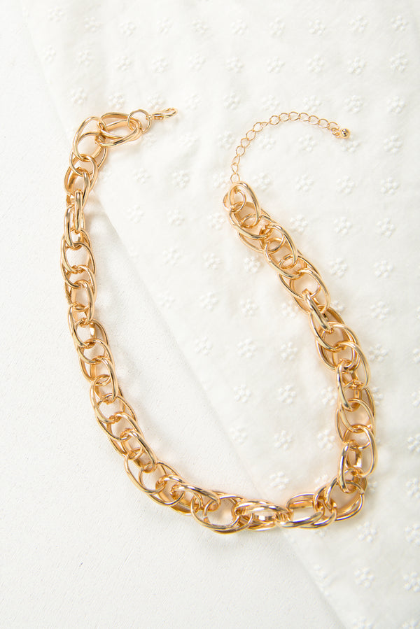 Yumi Chain Necklace / Gold