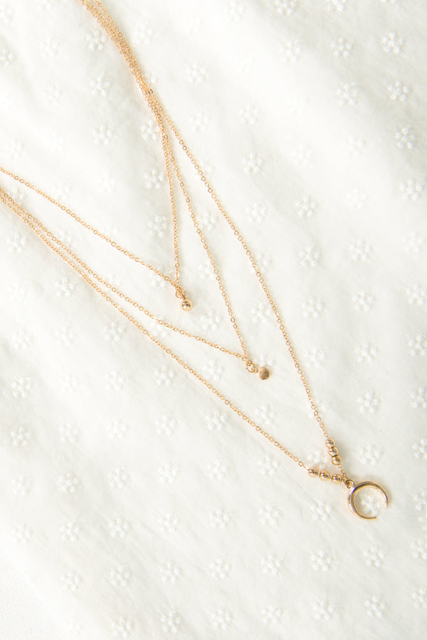 Suki Necklace / Gold