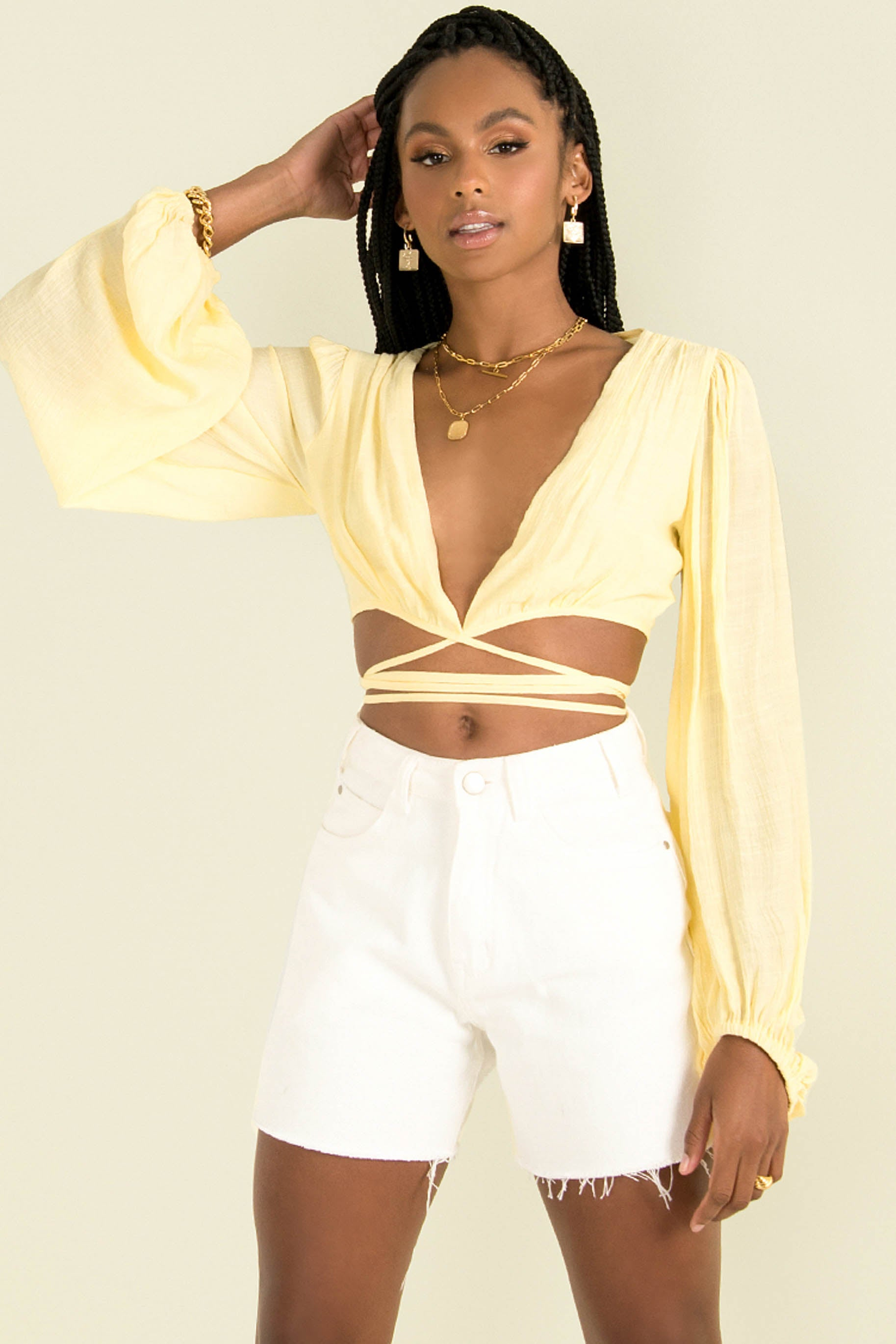 Polly Top / Yellow
