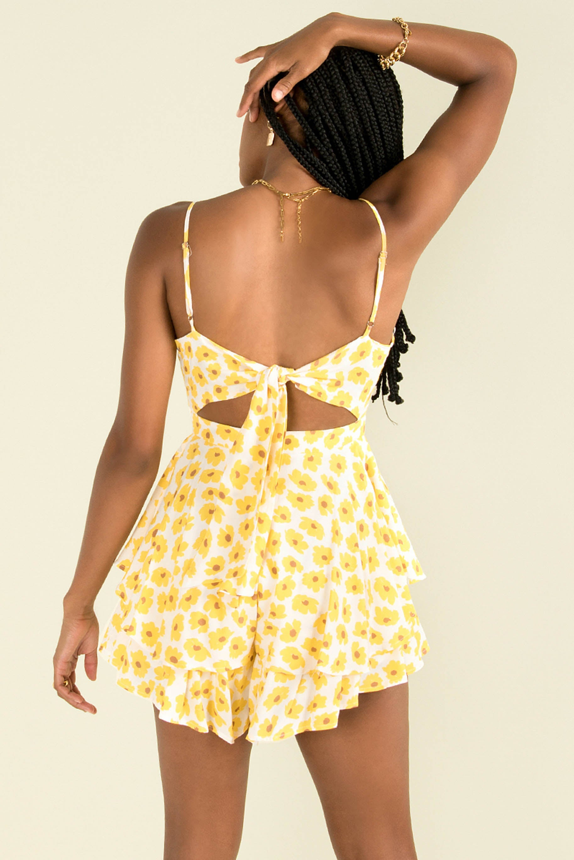 Luca Playsuit / Yellow