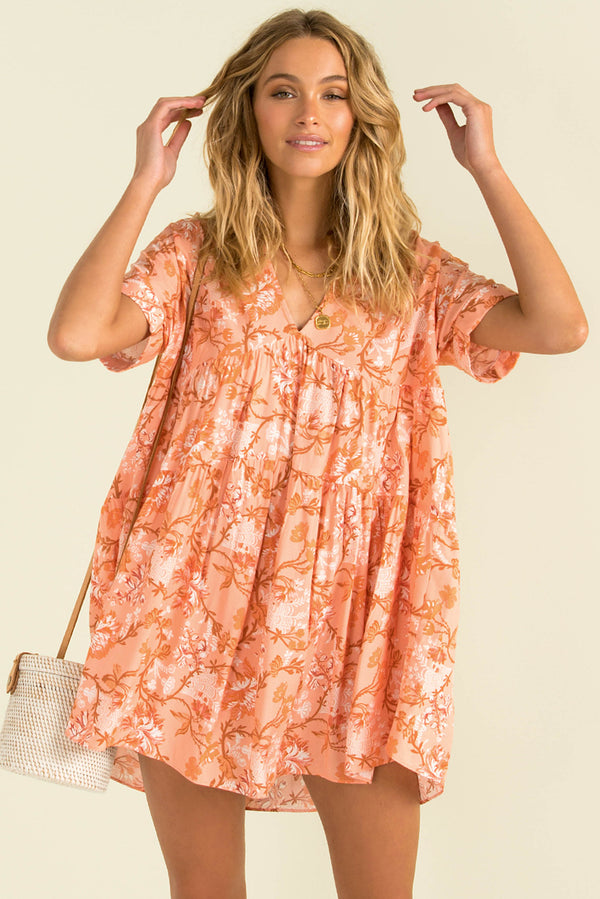 Tulum Dress / Peach