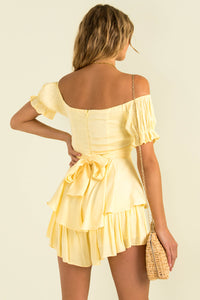 Ruth Playsuit / Yellow