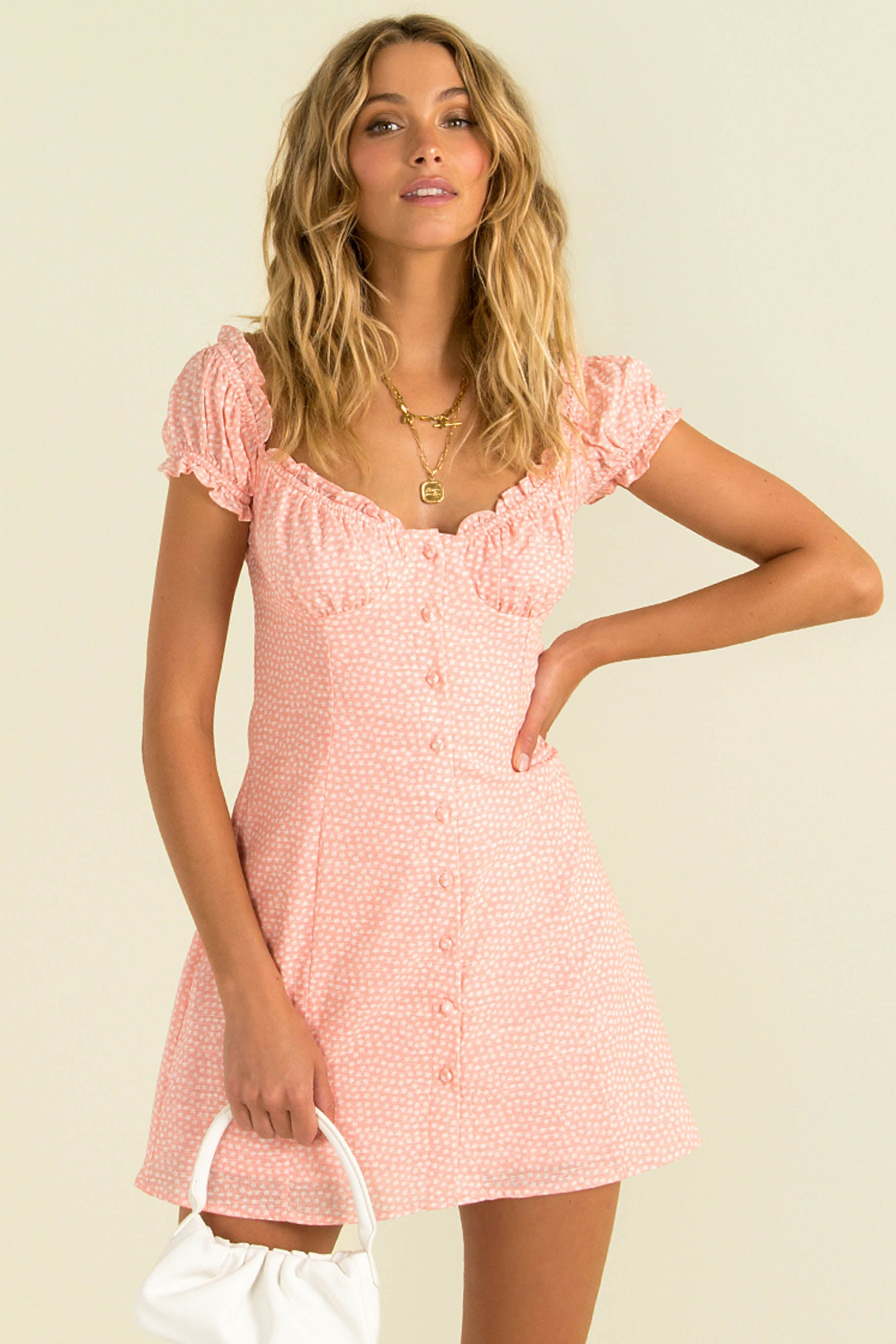 Yasmin Dress / Blush