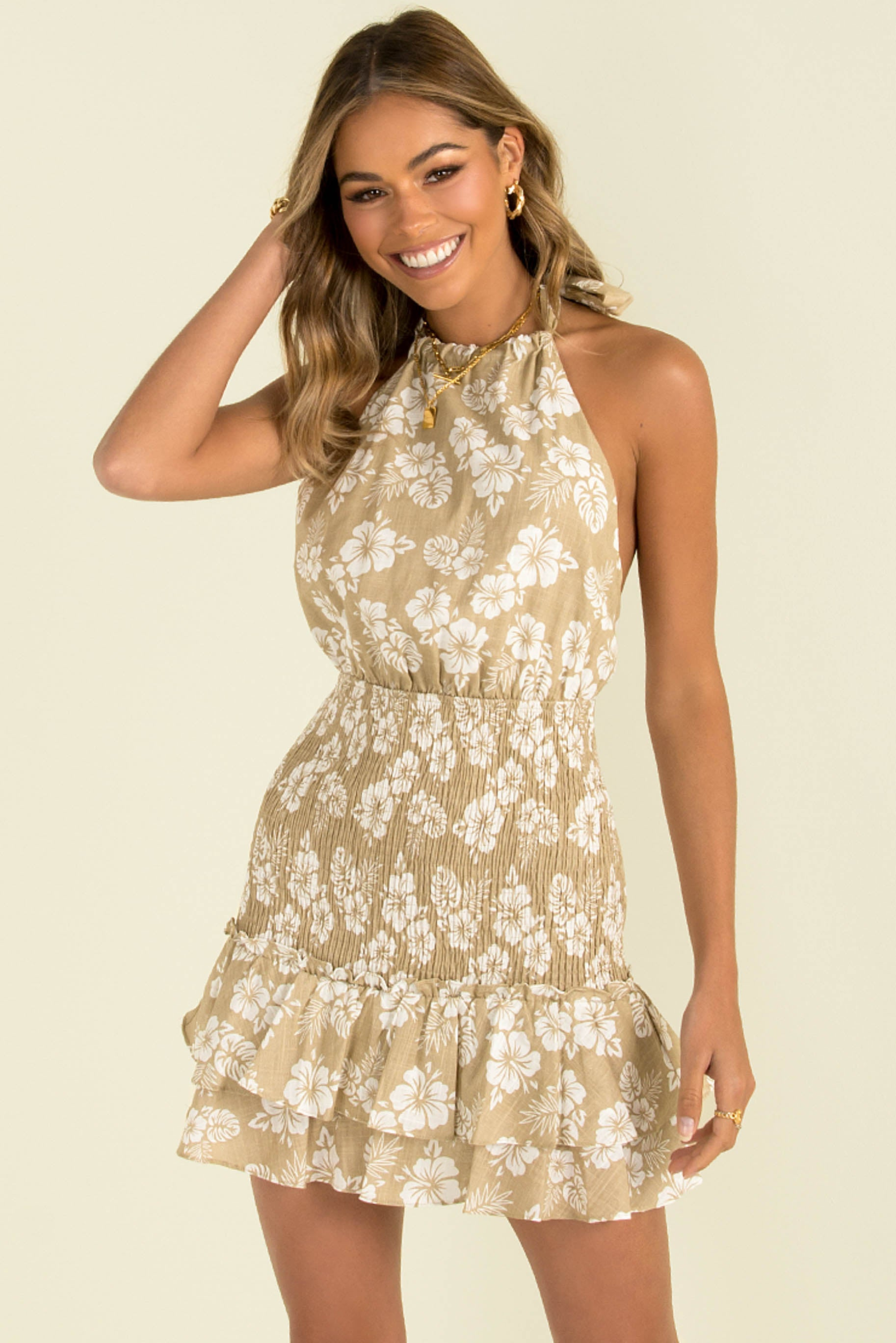 Ella Dress / Beige