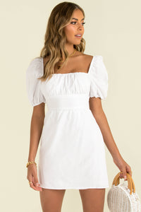 Thea Dress / White