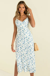 Sofia Dress / Blue Floral