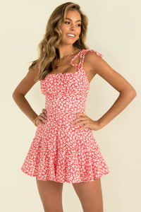 Annie Playsuit / Red