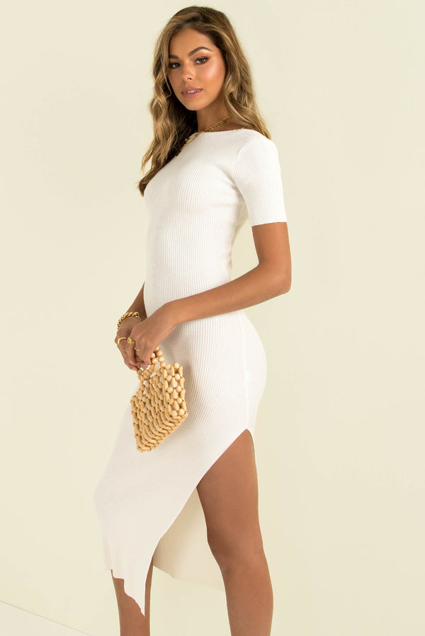 Rochelle Dress / White