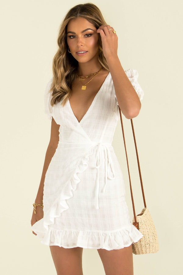 Adrianna Dress / White