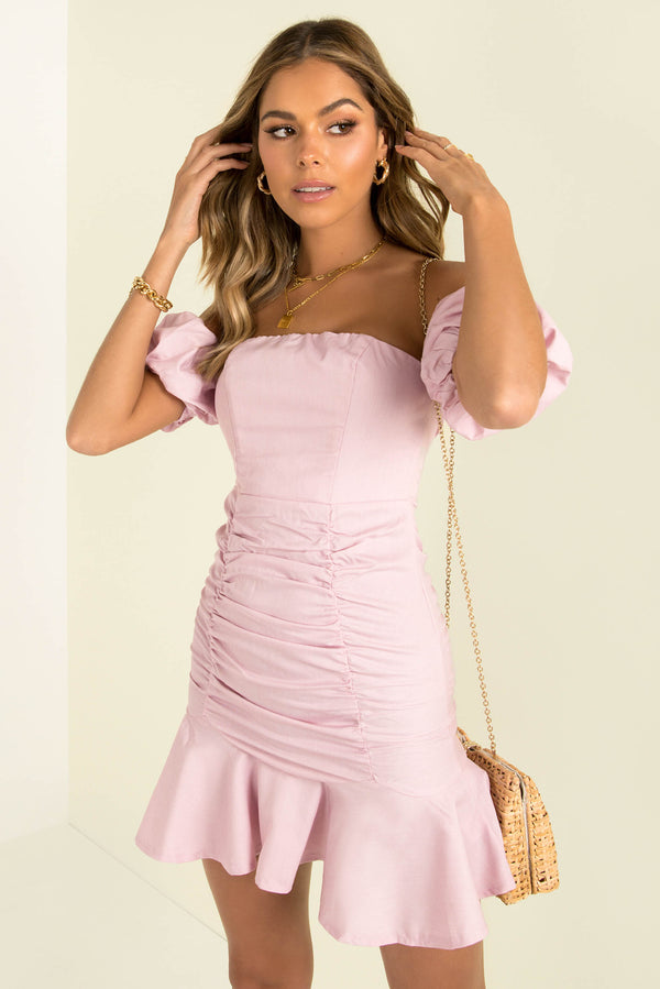 Harriet Dress / Pink
