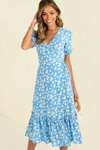 Loretta Dress / Blue