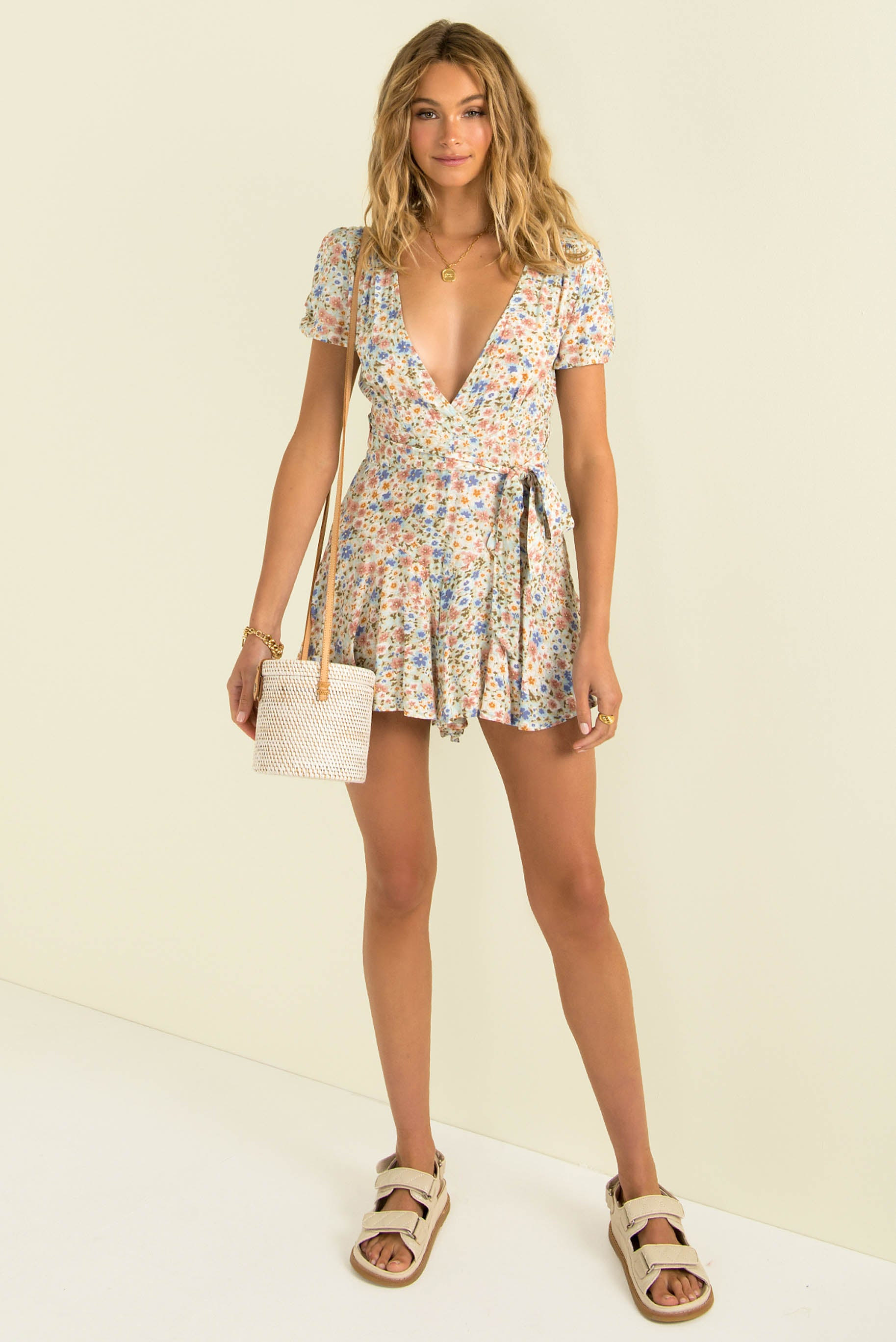 Chantelle Playsuit / Blossom