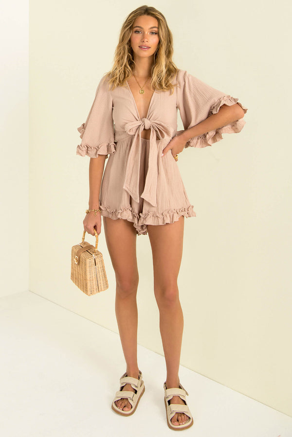 Alice Playsuit / Dusty Rose