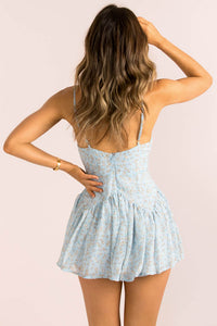 Amanda Dress / Light Blue