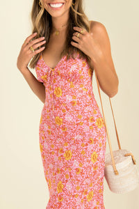 Julianna Dress / Pink Floral