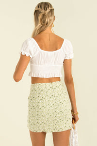 Renee Skirt / Light Green
