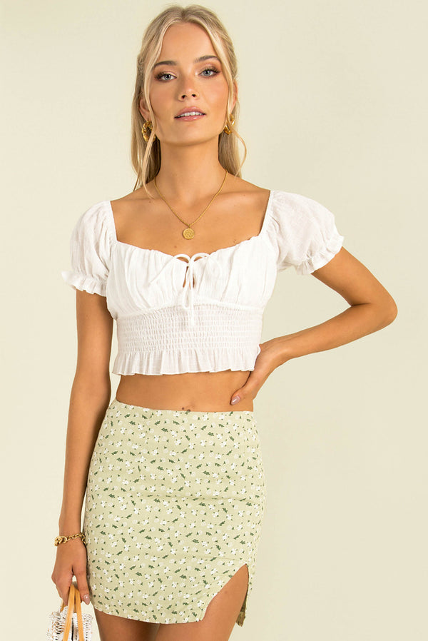 Aime Top / White