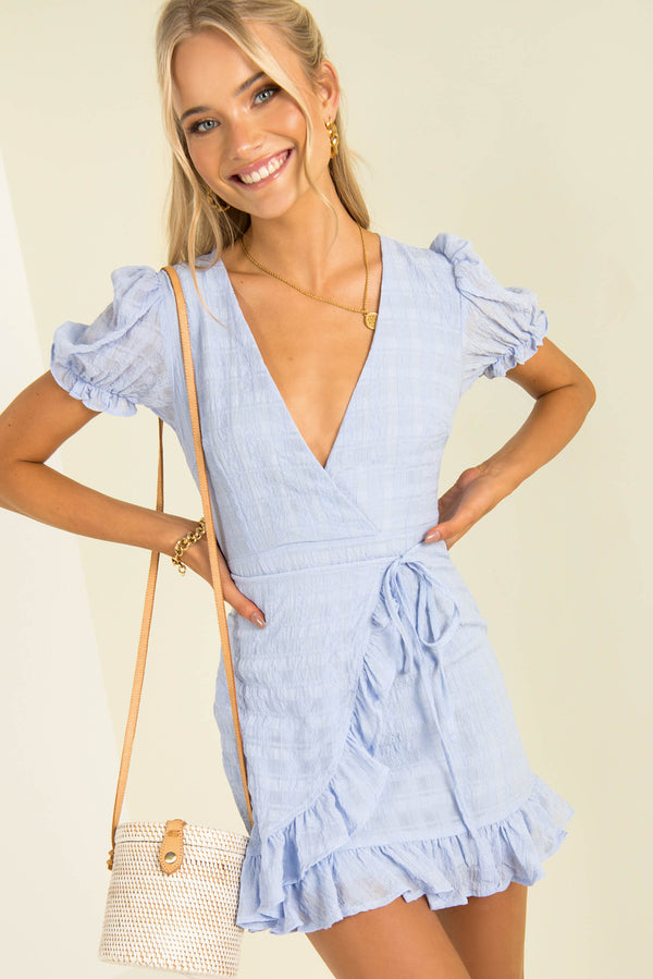 Adrianna Dress / Blue