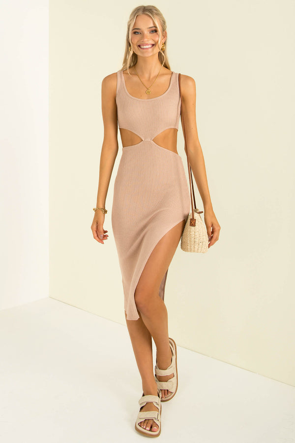 Valerie Dress / Beige