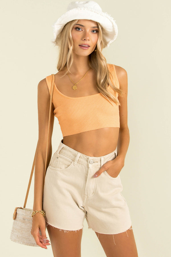 Abby Top / Orange