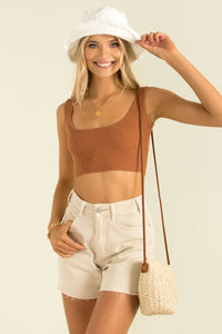 Abby Top / Tan