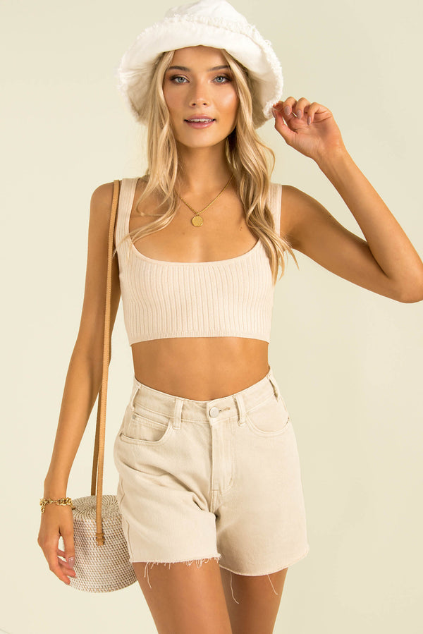 Brooke Top / Beige