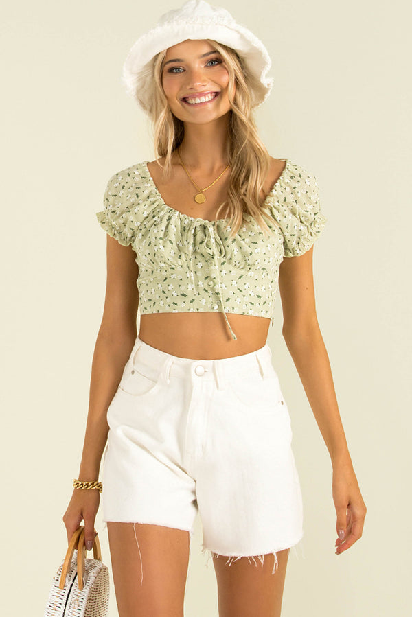 Renee Top / Light Green