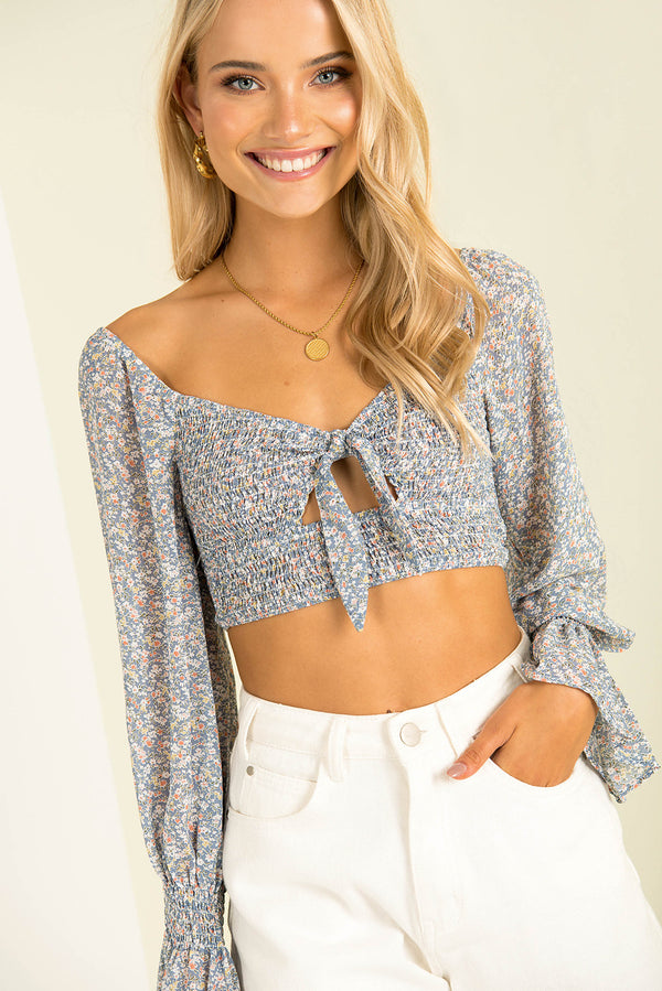 Meghan Top / Blue
